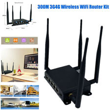300M 3G 4G Industrial Wireless Extender Smart WiFi Internet Router Kit for Home