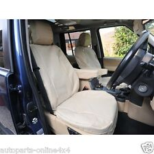 RANGE ROVER SPORT 2005>13 - FRONT WATERPROOF SEAT COVER (2) - SAND DA2819S