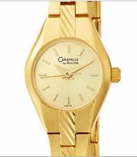 Bulova Caravelle Women's Gold Watch, Beautiful, Elegant, New in Box NOS