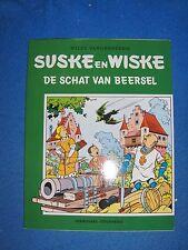 Speciale suske en Wiske De schat van Beersel met groene omslagcover sc 2001