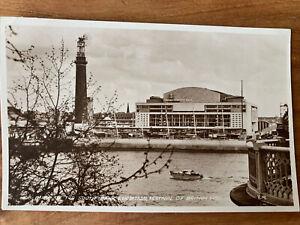 (59) A GLIMPSE OF THE SOUTH BANK EXHIBITION FESTIVAL BRITAIN 1951 RPPC