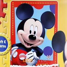 "Disney Mickey Mouse Plush Microfiber Throw Blanket Twin - Frame Dots 46""x60"""