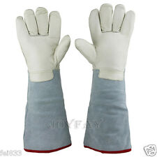 "45 cm 17.7"" Long Cryogenic Gloves LN2 Liquid Nitrogen Protective Gloves"