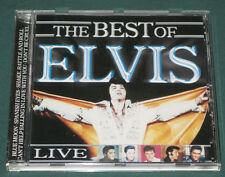 Elvis Presley The Best Of Elvis Live CD Like New RARE