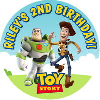 PERSONALISED TOY STORY QUALITY GLOSS PARTY BAG, SWEET CONE STICKERS