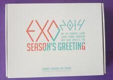 EXO Season's Greeting 2014 RARE Calendar+Scheduler+DVD
