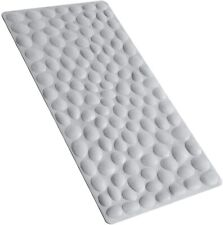 Non-Slip Bathtub Mat Soft Rubber Bathroom Bathmat with Strong Suction Cups