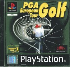 PGA EUROPEAN TOURNOI GOLF PLAYSTATION 1 utilisé