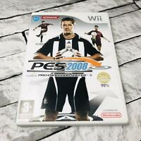 Pro Evolution Soccer 2008 Nintendo Wii 2008 Complete Excellent Condition