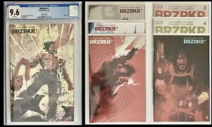 Brzrkr 1 Dan Mora 3rd Print Foil cgc 9.6 and Brzrkr 1-4 (6) Book Lot🔥🔥🔥