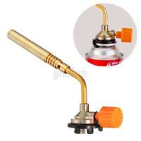 Outdoors Portable Ignition Butane Gas Torch Welding BBQ Flame Gun Lighter