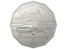 2018 50c SPECIAL HOLDEN MOTOR SPORT COIN - MINTAGE ONLY 10,000 - HK MONARO COIN