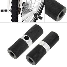 1Pair Bmx Mtb Bike Bicycle Foot Pegs Aluminum Alloy M10 Axle Pedals Stunt Stand