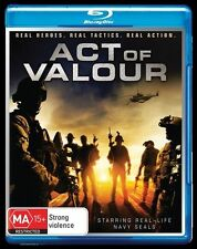 Act Of Valour (Blu-ray, 2012) BRAND NEW AND SEALED