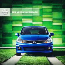 2012 Nissan Versa 22-page Original Sales Brochure Catalog