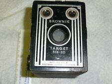 Vintage KODAK Brownie Target Six-20 Box Camera 1946-1952 Very Nice