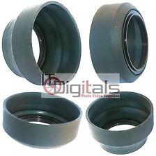 77mm Universal Rubber Lens Hood Sun Shade For 77 mm Lenses