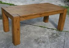 """""""any size made"""" SOLID WOOD DINING KITCHEN TABLE RUSTIC PLANK PINE FURNITURE"""