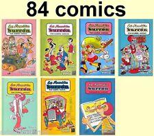 FAMILIA BURRON MEXICAN 7 BOOKS *84 COMICS COLLECTION* - MEMIN PINGUIN similar