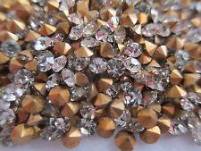 40 Gross SS12 Crystal Rhinestones - Fully Machine Cut Stones w/ Original Pack