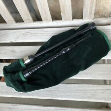 Scottish Bagpiies Practice Goose Warnock Chanter Synthetic Bag Velvet Cover