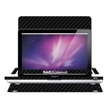 Skinomi Black Carbon Fiber Skin for MacBook Pro 13-inch (2009-2012)