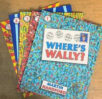 New Where's Wally Classic Collection 5 Large Size Books Martin Handford 1-5 Book