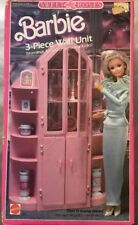 BARBIE SWEET ROSES  3 Piece Wall Unit 1987 NRFB