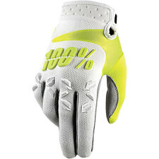 100% Men's Airmatic MX Gloves for Motocross Dirt Bike - Choose Size & Color
