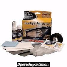 Porsche ALL Headlight restoration Kit  NEW #NS