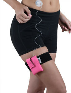Pink Diabetic Athletic Neoprene Insulin Pump Case with Belt by PumpCases