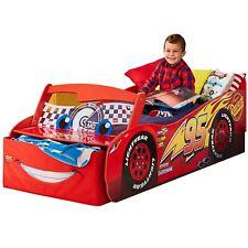Disney Cars Lightning Mcqueen Merkmal Kleinkind Aufbewahrung Bett 100% Offiziell