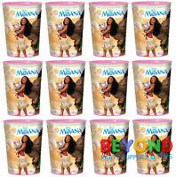 Disney Moana High Quality Reusable Birthday Party Plastic Cups