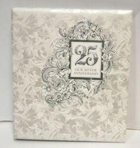 Hallmark Our silver anniversary Keepsake Album.