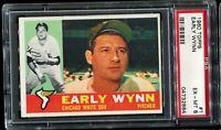 1960 Topps Baseball #1 EARLY WYNN Chicago White Sox PSA 6 EX-MT