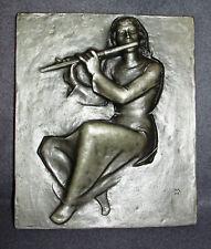 Buderus Gusseisenplatte 2028 MH - Flötenspieler -