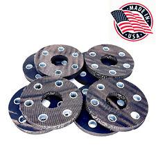 8 Pcs Land Pride Rotary Cutter Flex Coupler Rubber Disc Pads W Bushing 1785273
