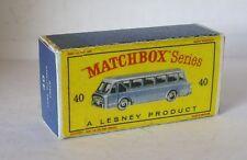 Repro Box Matchbox 1:75 Nr.40 Long Distance Coach