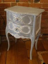 French Country Wood Over 70cm Bedside Tables & Cabinets