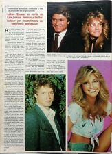 HEATHER LOCKLEAR => 1 page 1984  SPANISH CLIPPING !!!
