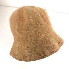 Vintage Normandy 50% rabbit hair hat beige about a size 6 7/8 hbx38