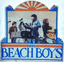 Original Vintage 70s Beach Boys Mini Iron On Transfer Music Band