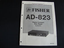 Original Service Manual Fisher AD-823