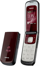 Nokia 2720 fold Deep Red GSM Cellphone Unlocked free shipping