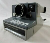 """VINTAGE  POLAROID Land Camera """"The Button"""" Point & Shoot with Strap"""