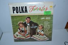 Polka Favorites Larry Chesky and his Orchestra LP Record 33RPM