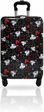 New Mickey Mouse Hard Side Tween Spinner Rolling Luggage for Kids - 20 Inch