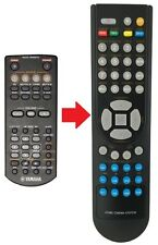 Télécommande de remplacement adapté pour yamaha rx-v363 et rx-v365
