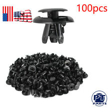 100X Fender Liner Fastener Rivet Push Clip Retainer For Mitsubishi Lancer 02-14