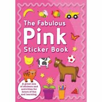 The Fabulous Pink Girls Sticker Book & Stickers Party Favour Activity Set Kids